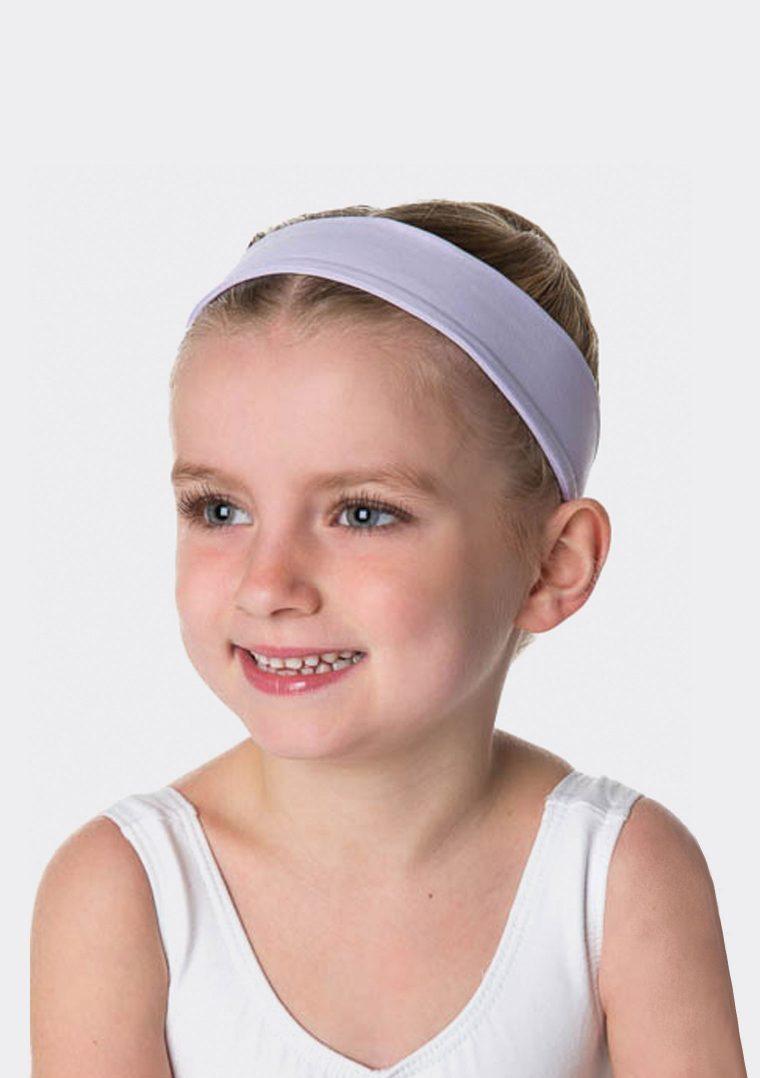 tactel headband lilac