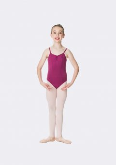 camisole strap leotard boysenberry