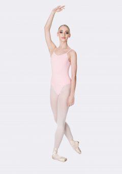camisole strap leotard ballet pink