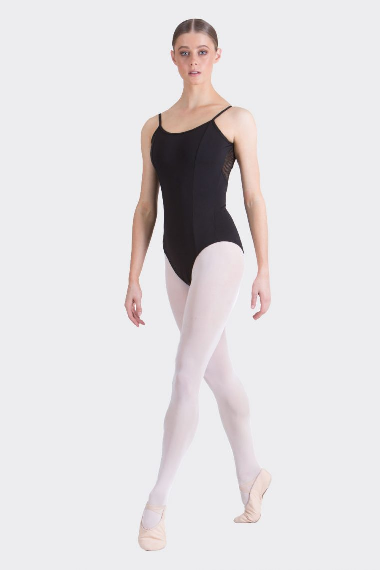 macey leotard black