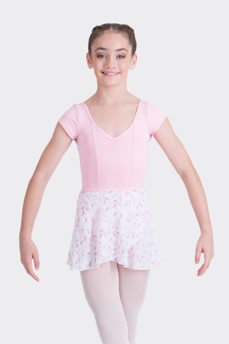 elena wrap skirt ballet pink