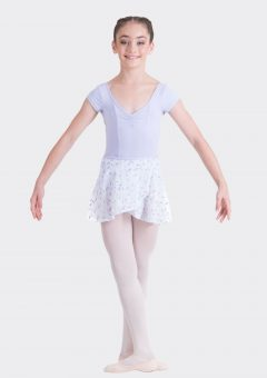 elena wrap skirt lilac