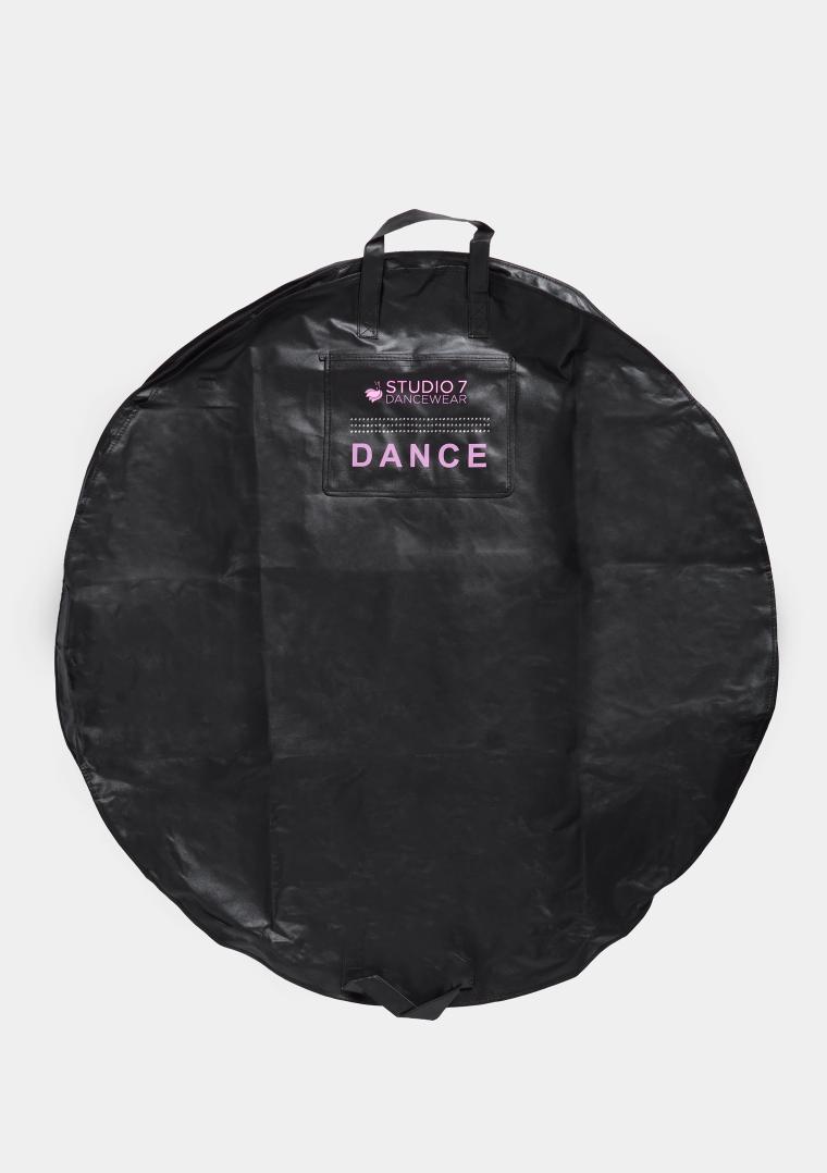 tutu bag black pink