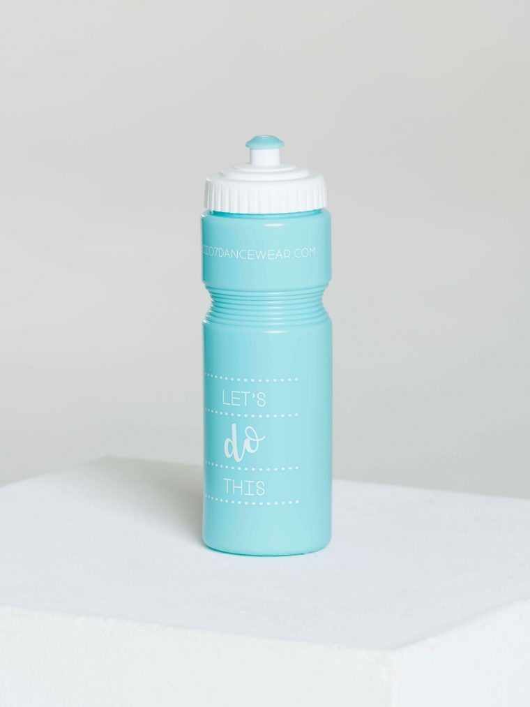 water bottle turquoise