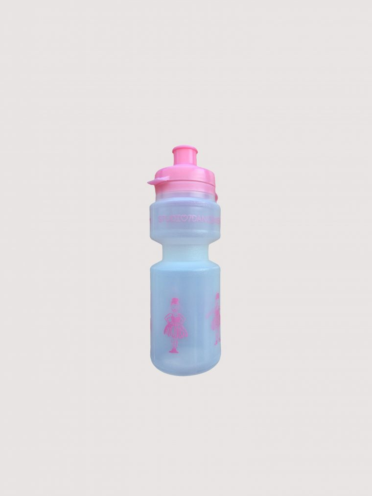 water bottle ballerina pink