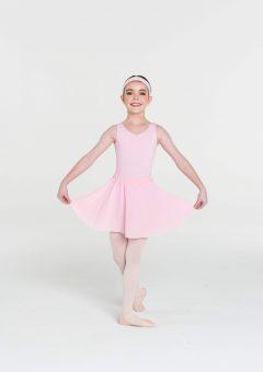 classic full circle skirt pale pink