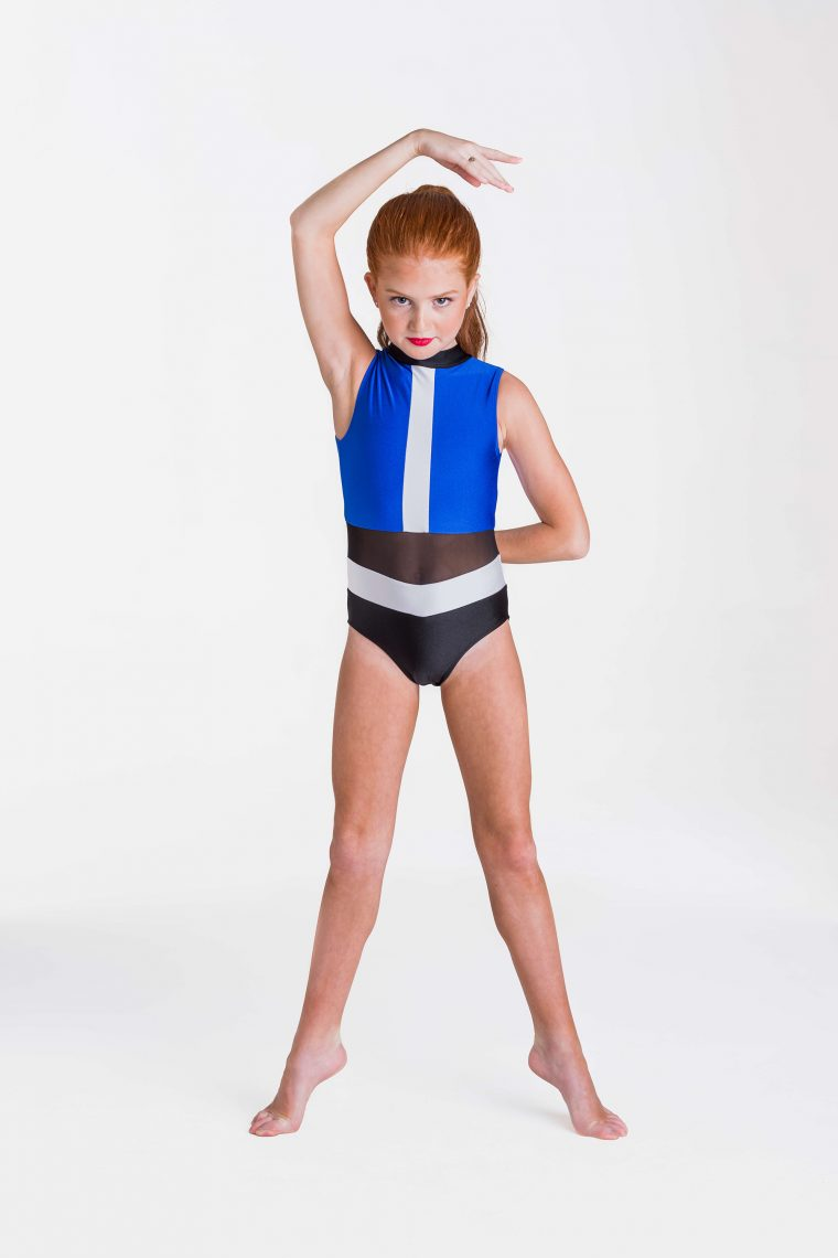 felicity leotard royal blue