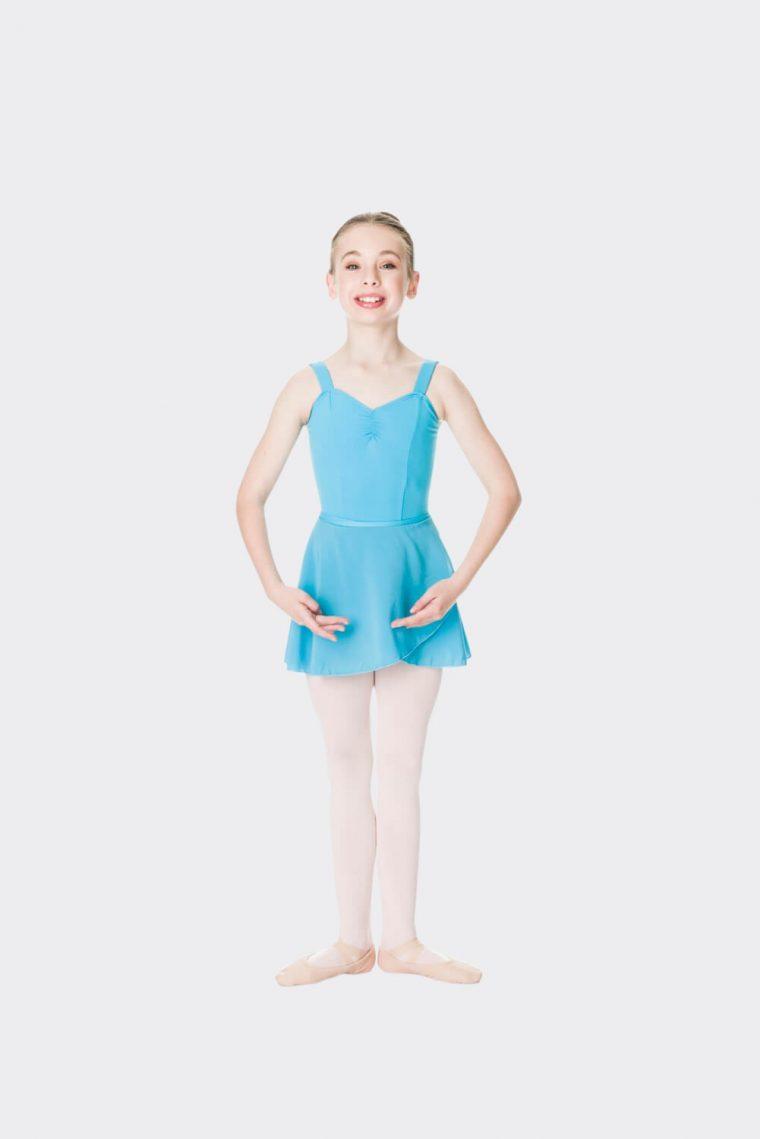 premium wrap skirt turquoise