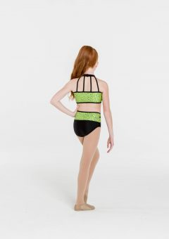 Bright lights two tones briefs black/lime