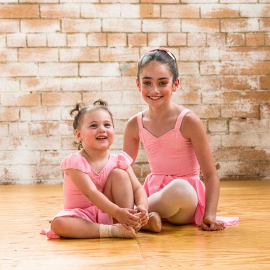ballet class uniform