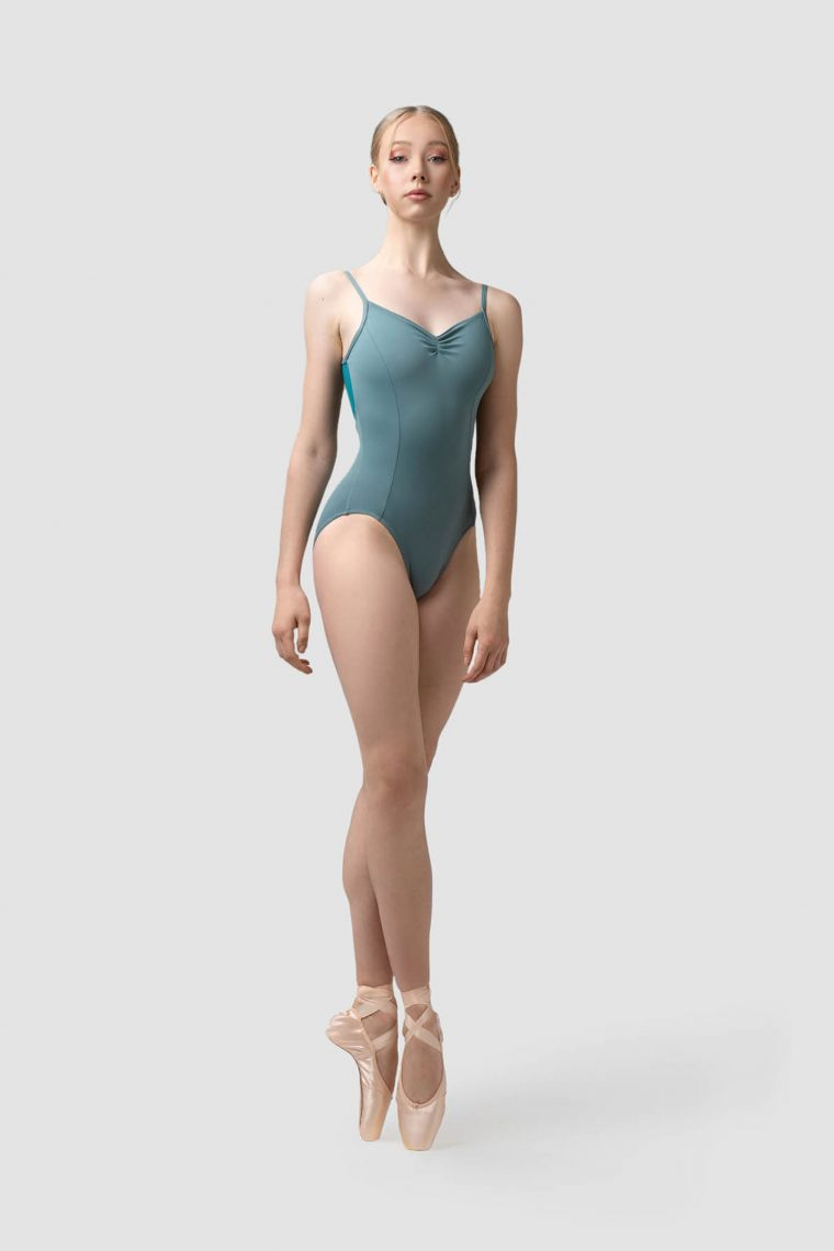 claudia leotard green