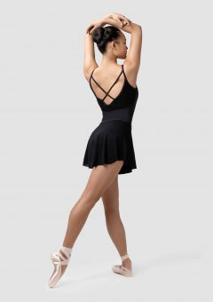 claudia ballet skirt black