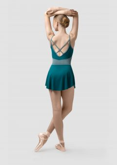 claudia ballet skirt green