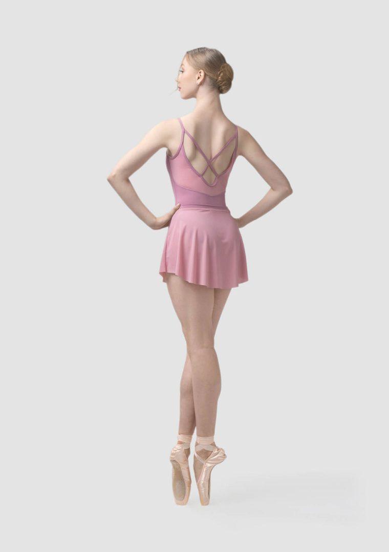 claudia ballet skirt pink