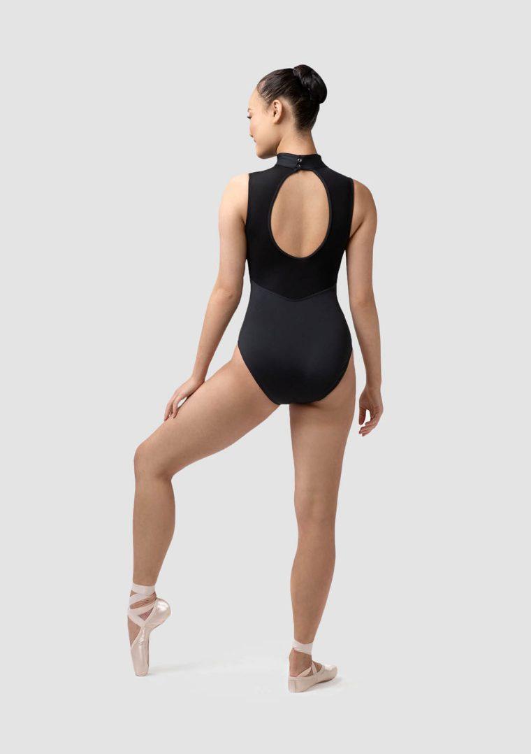emma leotard black fashion dancewear