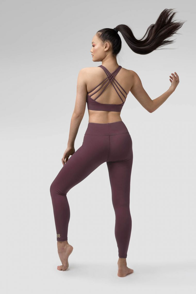 pauline leggings mulberry purple