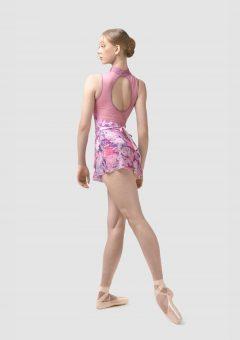 Rosette ballet skirt pink roses