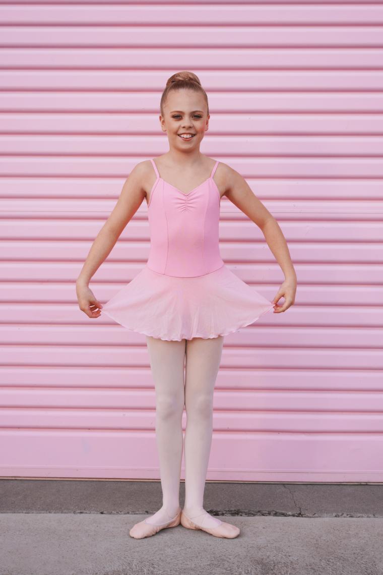 mia camisole dress ballet pink