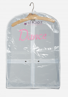 mini garment bag clear