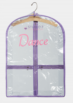 mini garment bag lilac