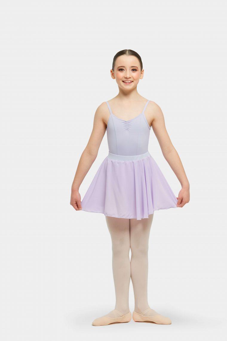 premium full circle skirt lilac