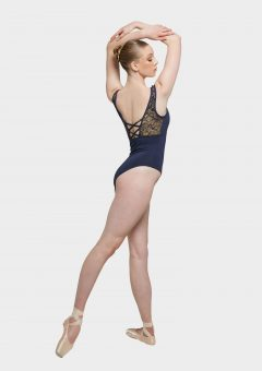 camilla leotard french navy