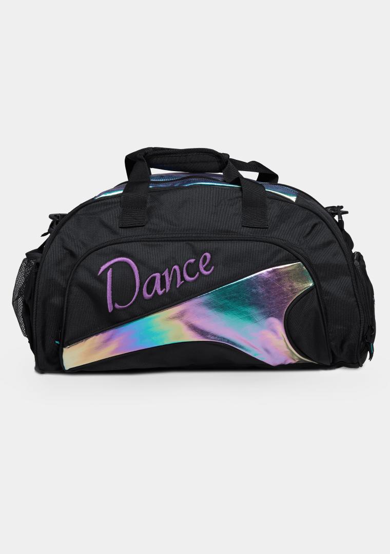 eco duffel bag rainbow
