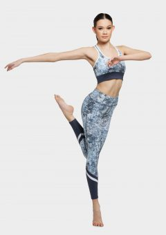 erika leggings blue wild lace