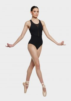 kaiya leotard black