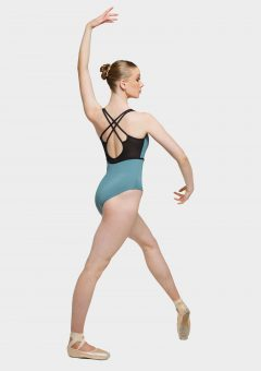 kaiya leotard green jasper