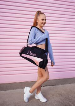 mini duffel bag fairy floss