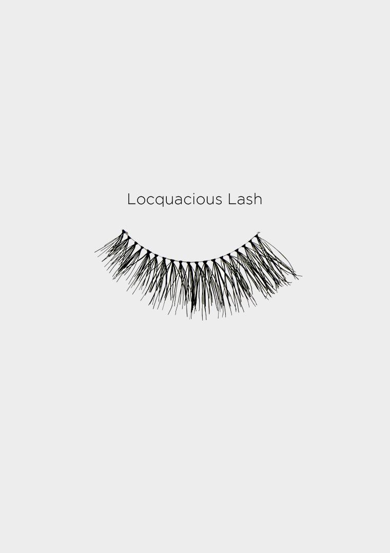 locquacious lash