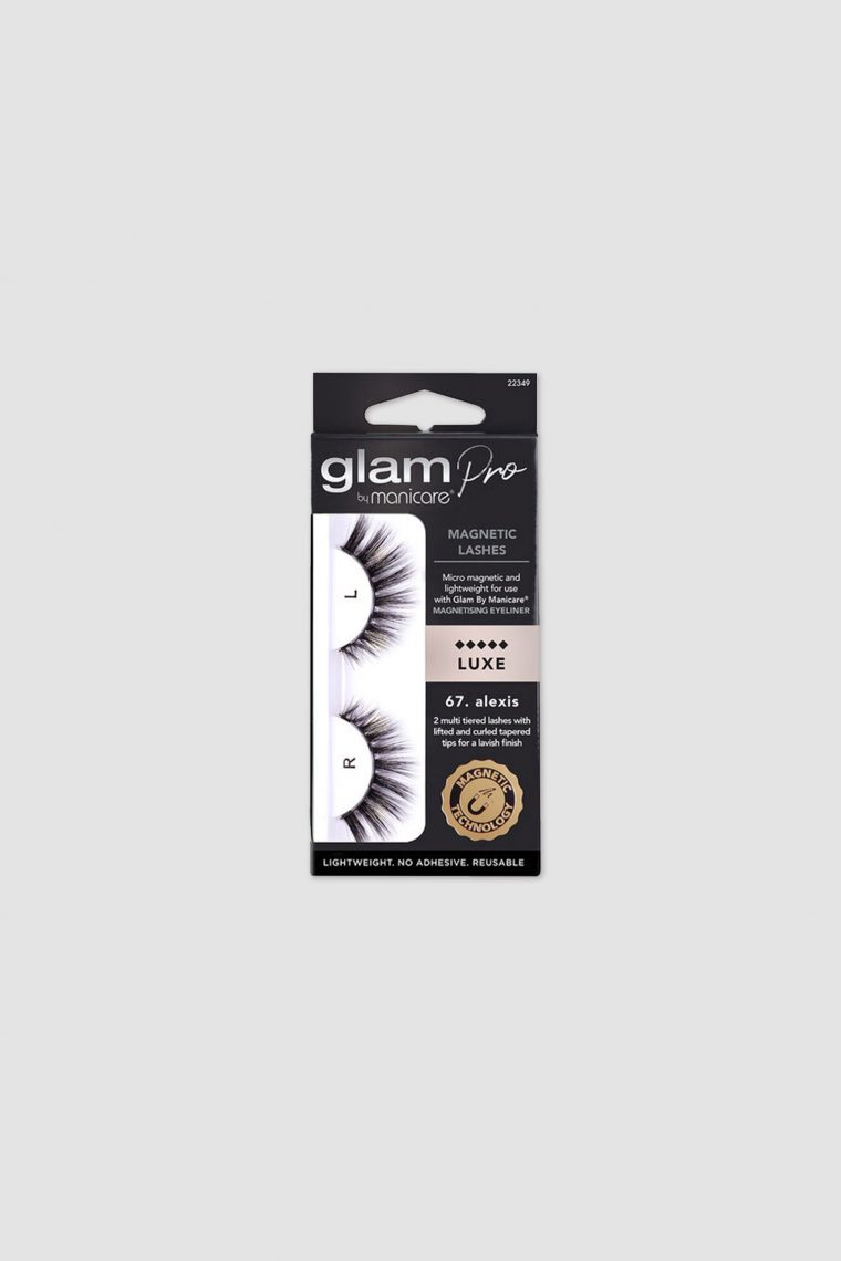 glam magnetic lashes alexis