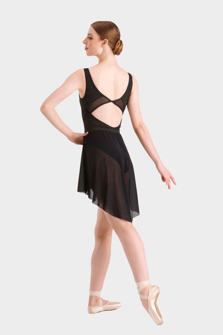 high low cut ballet skirt