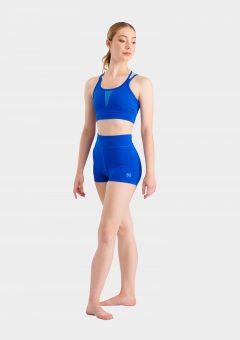 olivia hot shorts blue