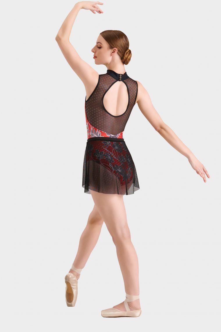 mini ballet skirt black