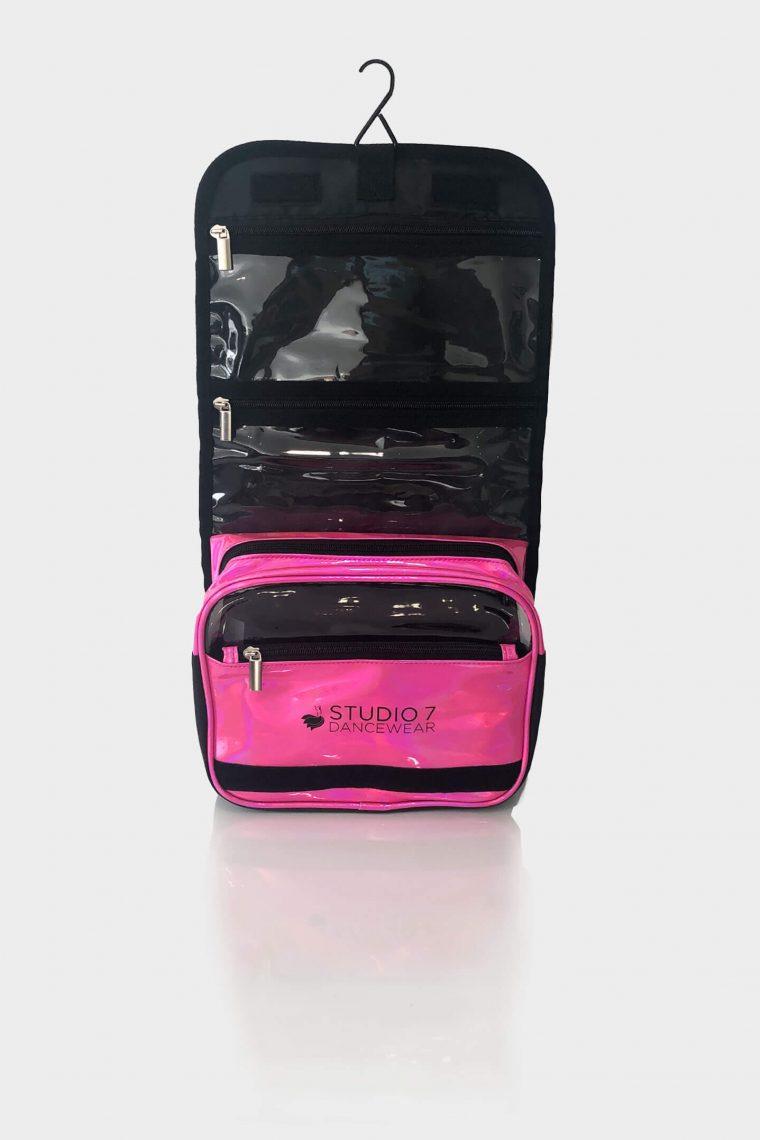 dance makeup bag pink