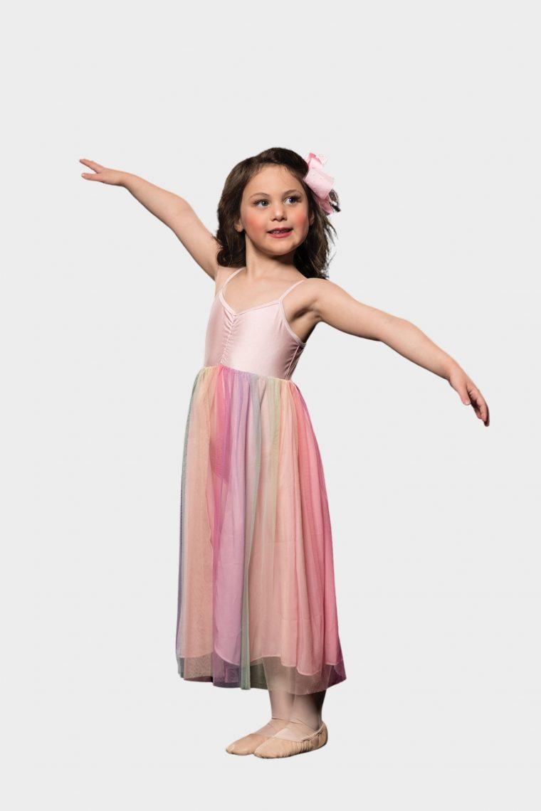 rainbow lyrical dress