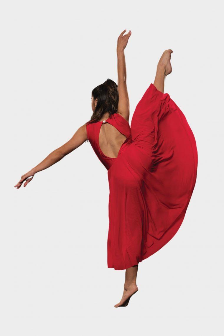 skylar dress red